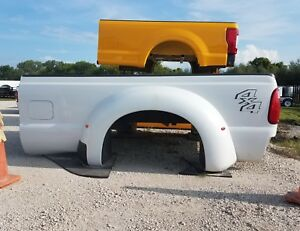 2011 2016 Ford F350 Super Duty Dually Take Off Truck Bed White