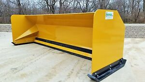 10 Snow Pusher Boxes Free Shipping rtr Backhoe Loader Snow Plow Express Steel
