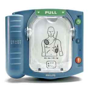 New Philips Heartstart Onsite Hs1 Aed M5066a 2020 Pads 6 Year Factory Warranty