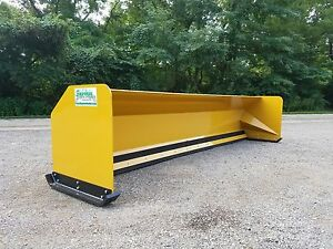 16 Jrb 416 Snow Pusher Box For Backhoe Loader Express Snow Pusher Free Shipping