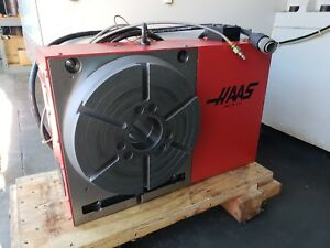 Haas Hrt 310 Brush Rotary Table Full 4th Axis
