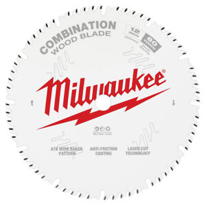 Milwaukee 12 In 60t Combination Circular Saw Blade 48 40 1222 New