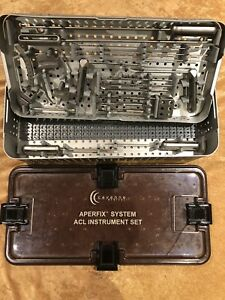 Cayenne Medical Surgical Orthopedic Aperfix Acl Instrument Set Arthroscopy