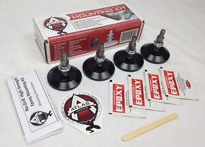 Atlas Mounts No drill High strength Mounting Kit 4 pack