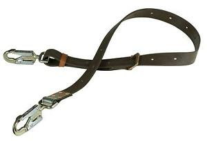 Positioning Strap With 6 1 2 inch Snap Hook 6 foot Long Klein Tools Kg5295 6l