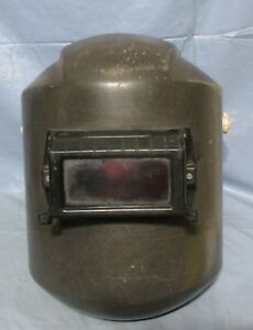 Vintage Sellstrom Fiberglas Welding Helmet Mask Shield Steampunk Industrial