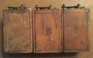 Three Model T Ford Heinze Coils Stamped Ford Working