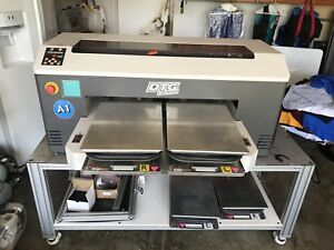 Dtg M2 Direct To Garment T shirt Printer Use