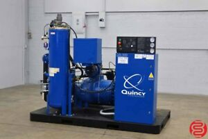 2016 Quincy Qsi 500i 100hp Water Cooled Oil Free Rotary Screw Air Compressor
