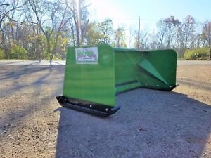 5 Low Pro John Deere Snow Pusher Box Free Shipping rtr Tractor Loader Snow Plow