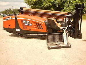 2008 Ditch Witch Jt2020 Mach 1 Directional Drill Boring Hdd