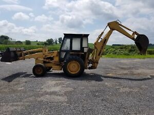 New Holland 555b Loader Backhoe 4x2 Runs And Works Well Low Cost Ship