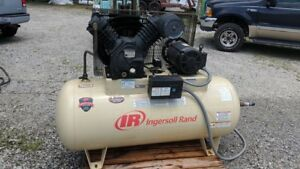 Ingersoll rand 2545e10v Electric Air Compressor 2 Stage 10 Hp 3 Phase