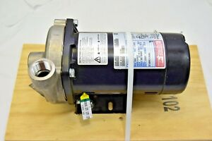 Franklin Model 5fpdds1 s Stainless Steel Centrifugal Pump 1 Out X 1 1 4 In