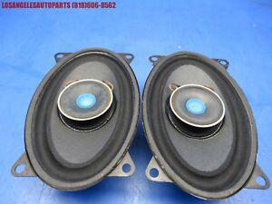 Porsche 944 Rear Original Side Speakers Blaupunkt Pair 8637611017