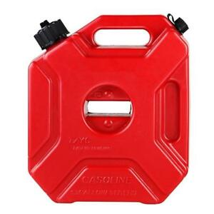 1 Gallon Fuel Gas Storage Tank Can Container With Lock For Atv And Motorcyle