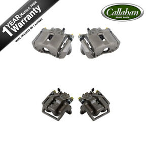 Front And Rear Quality Grade Factory Brake Calipers For 1999 2000 2001 Acura Rl