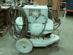 General Electric Arc Welder Vintage Industrial Welding Equipment Metalworking