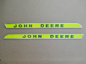 Side Hood Molding Set For John Deere Jd 4320 4520 4620 5010 5020 7020