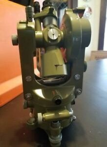 Wild Heerbrugg T16 Theodolite Transit Vintage Working Collectors Item