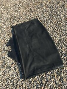 2001 Chevrolet Tracker Soft Top Front Section Black