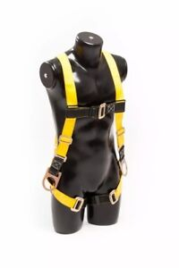 Harness With Sling Safety Fall Protection Kit Free Shipping