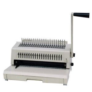 Tamerica 213pb Plastic Comb 3 hole Punch Binding Machine