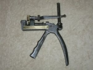 Curtis Industries Inc Antique Key Cutter Model F Patented 1935