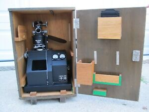 Unitron N Series No 53100 Metallurgical Geological Microscope With Lenses Box