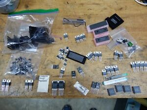 Huge Lot Of T 220 Transistors And Ic s From Robotics Shop