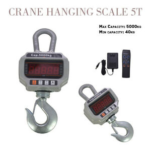 Ocs t 5000kg 11 000lb Heavy Duty Digital Crane Hanging Scale Led Display