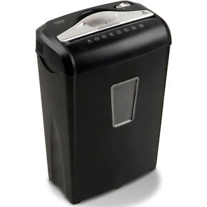 Micro cut Paper Shredder 8 sheet Extra Security Durable Steel Cutters Automatic