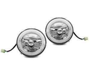 Eagle Eye Universal Headlight Head Lamp 7 Inch Without Bracket Multiple Color