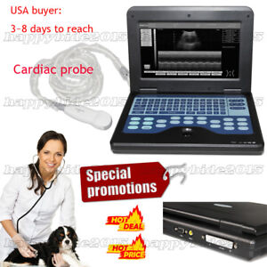 10 1 Inch Tft Lcd Notebook Diagnostic Machine Ultrasound Scanner cardiac Probe