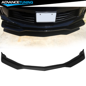 Fits 16 18 Chevy Camaro 2dr Zl1 Style Front Bumper Lip Spoiler Pp