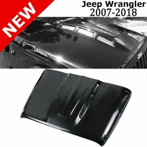 2018 New Avg Avenger Style Hood W Plastic Vents For Jeep Wrangler Jk 2007 2018