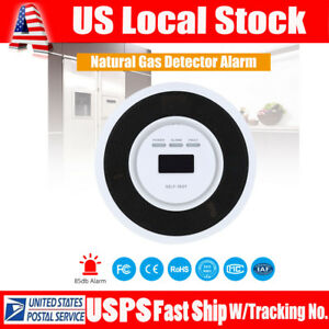 Combustible Gas Detector Natural Gas Methane Leak Lpg Tester Monitor Alarm Usa