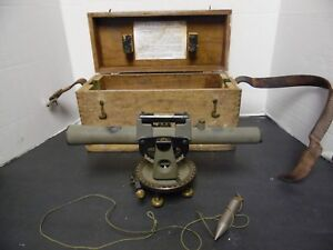 Vintage Survey Scope In Box