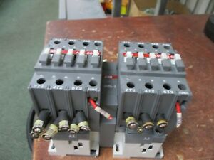 Abb 2 Speed Contactor A40 30 01 120v Coil 60 50a 600v Used
