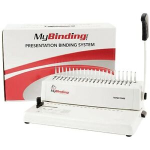 Minicomb Manual Plastic Comb Binding Machine