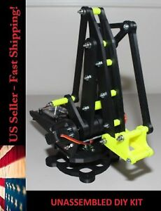 Robotic Arm For Arduino Pi Miniature Palletizing Robotics Diy Kit Yellow