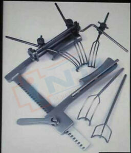 Cooley Cos Grove Mitral Valve Re Tractor Complete Set Orthopedic Instruments