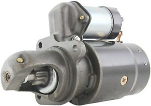 New Usa Built 12 Volt Starter For International Farmall Replaces 1109586 1107275
