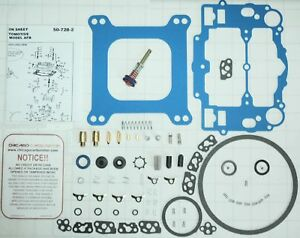 1403 1405 1406 1407 No Stick Blue Edelbrock Carb Repair Kit Steel Pump Assem