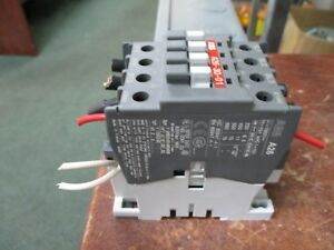 Abb Contactor A26 30 01 120v Coil 40a 600v Used