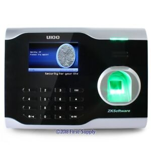 Fingerprint Attendance Time Clock With Tcp ip And Management Software Brand Newe
