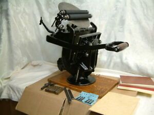 Golding Co official No 3 5 X 7 5 Letterpress Press working Press