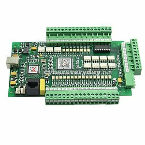 Cnc 3 4 Axis Usbcnc Mach3 Stepper Motor Control Motion Interface Breakout Board