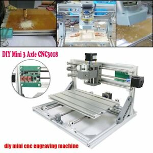 3 Axis Cnc 3018 Router Mill Wood Pcb Engraving Machine Printer Grbl Control Hg