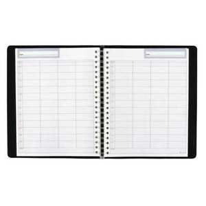 Planner daily undated black